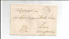Preussen V / DORTMUND 25/6, K2 (m. Dat.-Str.) auf Kabinett-Tax.-Brief ca. 1845