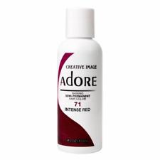 Adore Semi-Permanent Hair Color 71 Intense Red 4 oz
