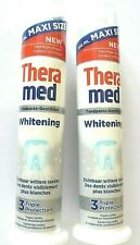 Lot de 2 Dentifrices THERAMED Whitening TRIPLE Protection * 100 ml * 100 % NEUF