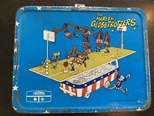 Harlem Globetrotters Metal Lunch Box 1971 No Thermos Rough Pabs Bobby Joe Geese
