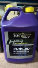 SALE - ROYAL PURPLE HPS SYNERLEC PERFORMANCE ENGINE OIL SAE 10W-40 5L