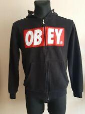 mens Obey M hoodie sport sweater hooded