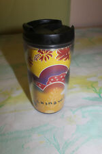 Starbucks Okinawa 2002 Tumbler 12 oz Limited and Very Rare Shisa Ryukyuan Lion