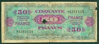 FRANCE 50  FRANCS  VERSO FRANCE SANS SERIE  TYPE 1945  ETAT: TB-  86161154