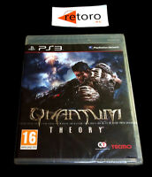 QUANTUM THEORY Tecmo Sony Playstation 3 PS3 Play Station 3 PAL-España Nuevo New