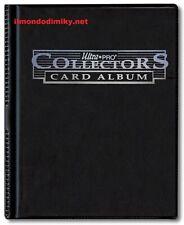 ULTRA PRO Portfolio 4 tasche 10 pagine Collectors card album Black 0/12