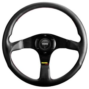 MOMO Tuner leather steering wheel 320mm NEW sport competition tuning drift