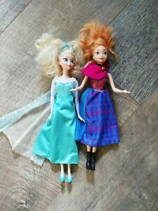Anna und elsa barbie