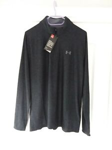 Under Armour Mens Tech I/2 Zip Top Size Med