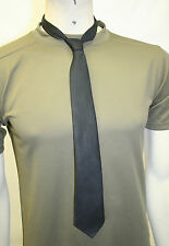 Ex MoD Black Neck Tie Police Security Polyester