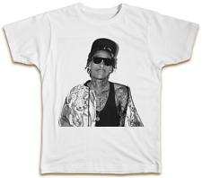 Wiz Khalifa Tatuaje T-Shirt Fresco SWAG Hip Hop Hipster De Verano Regalo diseñador de música