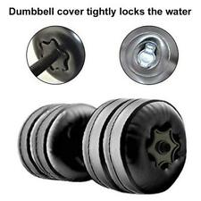 Portable Water Dumbbell Set Adjustable  Body Weight Building Gym Inflated Fitnes