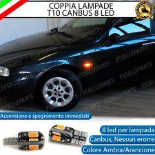 COPPIA LAMPADE FRECCE LED LATERALI ALFA ROMEO 156 , 166 CANBUS NO ERRORE