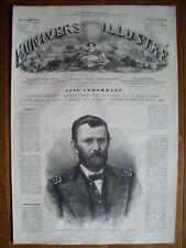 General Grant,...wood engraving...1868