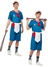 Ice Cream Sailor Costume Stranger Things Mens Fancy Dress Outfit Ahoy