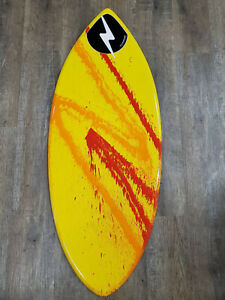 Zap Wedge Skimboard - Large - 2021 - Yellow/Red (3)