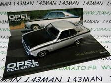Ope36 car 1/43 ixo eagle moss opel manta a collection: gt/e 1974/1975