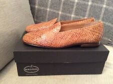 NEW In Box Authentic 100% Leather Loafer Flats By Kollflex Size 6.5UK RRP £159