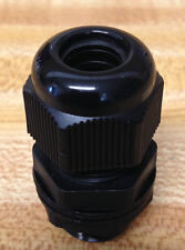 3/4 inch NPT - Strain Relief Cord Grip Cable Gland with gasket and nut - NEW