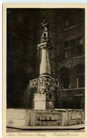 """LEIPZIG ~ 1910 AK Rat der Stadt """"Rathausbrunnen"""" Platz alte Postkarte"""