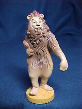 The Cowardly Lion Wizard Of Oz 1987 Turner Presents MGM PVC Cake Topper Figure