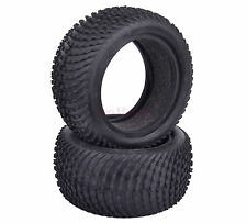 2PCS 85mm*40mm RC 1/10 Rear Foam Rubber Tyres Tires Off-Road Buggy Car 7011R