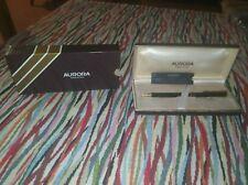 Aurora penna sfera 345 ball point pen  con scatola vintage nos new