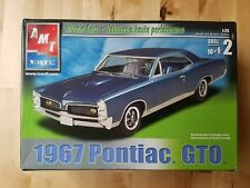 AMT ERTL Muscle Cars 1967 Pontiac GTO Buildable Model Car 1:25 Scale