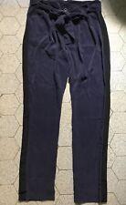 Pantalon à galon en soie Les Petites T.38 neuf