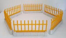 PLAYMOBIL ZOO jaune Grilles/Fences x 6 Animal Boîtier School House Spares