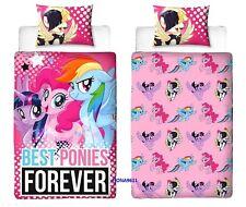 Mi Pequeño Pony La película Reversible Funda Nórdica Individual & Funda de almohada Set SEALED
