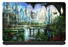 15.6 inch Fantasy City-Laptop Vinyl Skin/Decal/Sticker/Cover-LFC01