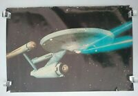 Star Trek Enterprise Poster 1976 36x24 Paramount Pictures Corp Vintage