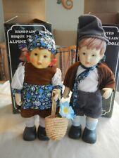 Vintage Porcelain Alpine Doll Set