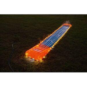 BESTWAY 18' H2OGO LED LIGHT UP INFLATABLE SPLASH & SLID PLAY CENTER WATER SLIDER