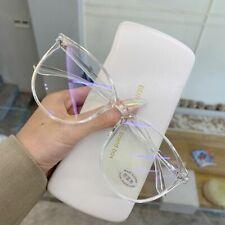 Transparent Computer Glasses Anti Blue Light Optical Eyeglass Men Women Eyewear