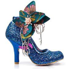 Irregular Choice 'Sweet Melody' (B) Blue High Heel Glitter Shoes EU 38 / UK 5