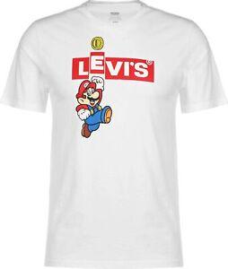 Levi's Rundhalsshirt Nintendo x Levi's Limited Collection Tee Shirt Herren Mario
