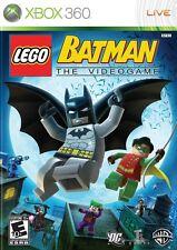 Lego Batman The Videogame Xbox 360 Game