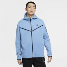 Nike Sportswear Tech Fleece Hoodie - Stone Blue | Men's | Size Small CU4489-442