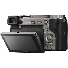 Sony Alpha a6000 24.3MP Digital Camera w/ 16, 18-55 & 18-200mm Lenses Bundle