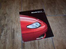 Catalogue / Brochure MAZDA MX-6 1993 //