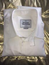 Vivienne Westwood Man White Pure Cotton shirt size 50 / L RRP £250