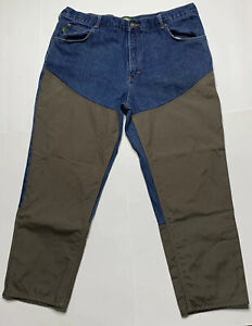Cabelas Roughneck Upland Hunting Brush Guard Field Jeans Size 42x30 EUC