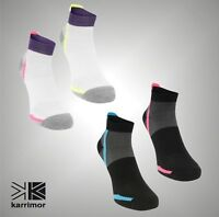 2 Pack Ladies Karrimor Training Running Support Socks Size 4-8