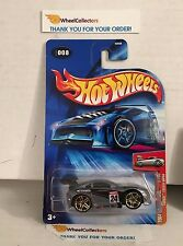 Tooned Toyota Supra #8 * ZAMAC * 2004 Hot Wheels * A14