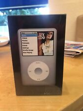 Apple iPod Classic 6th Generation Silver (160 GB) Unwrapped Unopened Brand New