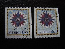 SUEDE - timbre yvert et tellier n° 1990 x2 obl (A29) stamp sweden