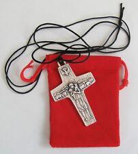Cross of The Good Shepherd Pope Francis Cross on Cord Genuine Italian