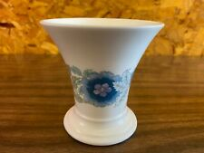 Vintage Wedgwood Bone China Clementine Posy Vase Bell Shaped Beautiful Condition